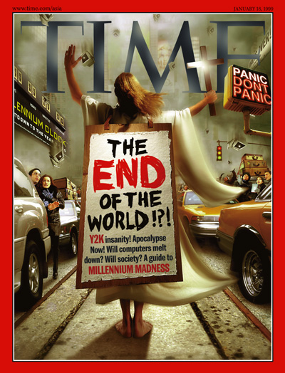 Y2K Time Magazine Cover