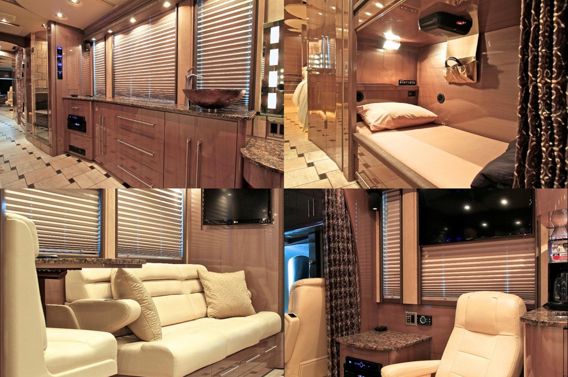 custom coach interior